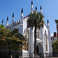 French Huguenot Church In Charleston by Susanne Van Hulst
