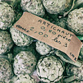 French Market Finds - Artichoke by Georgia Fowler