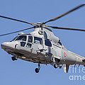 French Navy As565 Panther Helicopter by Timm Ziegenthaler