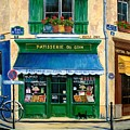 French Pastry Shop by Marilyn Dunlap