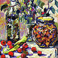 French Provence Cooking Still Life by Ginette Callaway