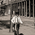French Quarter As It Once Was by KG Thienemann