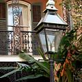French Quarter Courtyard by KG Thienemann