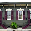 French Quarter Home by Chuck Johnson