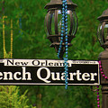 French Quarter Sign by Garry Gay