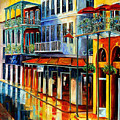 French Quarter Sunrise by Diane Millsap