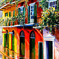 French Quarter Sunshine by Diane Millsap