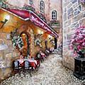 French Restaurant by Elizabeth Gomez