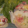 French Teapot by Lisa Konkol
