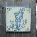 French Tile 1 by Hart Rueter
