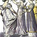French Womens Fashion, 1808-09 by Science Source