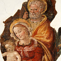 Fresco Holy Family by Chlaus Loetscher