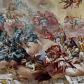 Frescos Under Dome In Ettal Abbey by Aivar Mikko