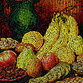 Fresh Fruit Tiled by Stephen Lucas