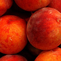 Fresh Fuzzy Peaches by Ian  MacDonald