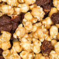 Fresh Gourmet Popcorn In Filled Frame Layout  by Thomas Baker