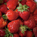 Fresh Picked Strawberries by Ann Jacobson