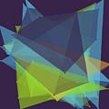 Fresh Polygon Pattern by Frank Ramspott