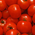 Fresh Red Tomatoes by Thomas Marchessault