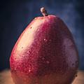 Fresh Ripe Red Pear by Edward Fielding
