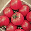 Fresh Ripe Tomatoes by Edward Fielding