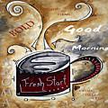Fresh Start Original Painting Madart by Megan Duncanson
