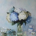 Fresh Summer Hydrangea 2 by Hope Reis