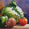 Fresh Vegetables by Sue Zimmermann