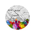 Fresno California 13rd by Aged Pixel