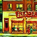 Fressers Takeout Deli by Carole Spandau