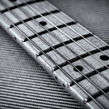 Fret Board In Black And White by Matt Hammerstein