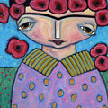 Frida In The Blooms by Trine Stasica