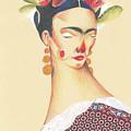 Frida Kahlo by AVF YAYA Andrea V Franceschi