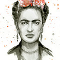 Frida Kahlo Portrait by Olga Shvartsur