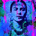 Frida Kahlo Street Pop Art No.1 by Felix Von Altersheim