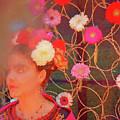 Frida Kalho Inspired by Daniele Auvray
