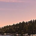 Friday Harbor Panorama by Katy Granger