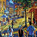 Friday Night Walk Prankearts Fine Arts by Richard T Pranke