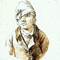 Friedrich Caspar David Self Portrait With Cap And Sighting Eye Shield by PixBreak Art