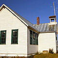 Friend Schoolhouse by Steve Warnstaff