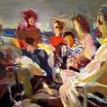 Friends In Ensanada by Bob Dornberg