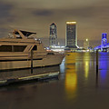 Friendship Park Marina - Jacksonville Florida - Skyline by Jason Politte