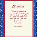 Friendship Poem by Connie Mitchell