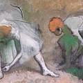Frieze Of Dancers by Edgar Degas