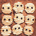 Frightened Mummy Baked Biscuits by Jorgo Photography - Wall Art Gallery