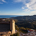 Frigiliana From El Fuerte De by Panoramic Images
