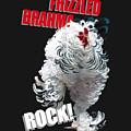 Frizzled Brahma T-shirt Print by Sigrid Van Dort