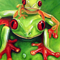 Frog Rodeo by Darlene Green