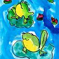 Frogs by Elyse Bobczynski Age Five