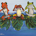 Frogs Without Sense by Debbie Levene